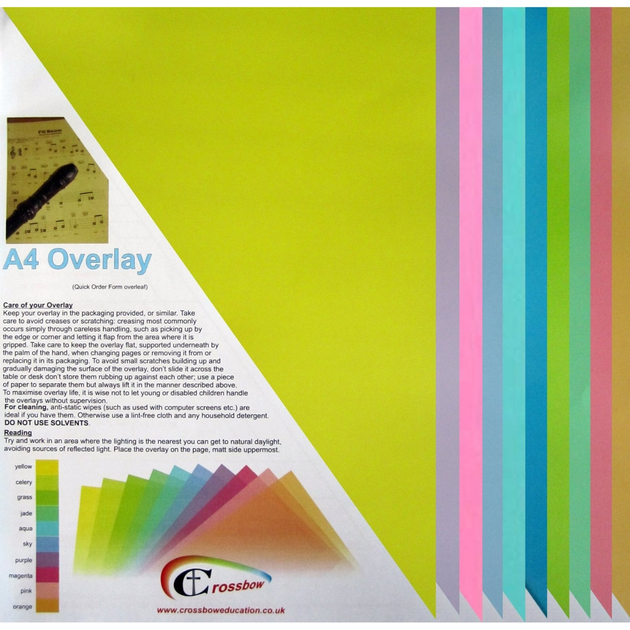 Top tips for creating Dyslexia friendly print materials.