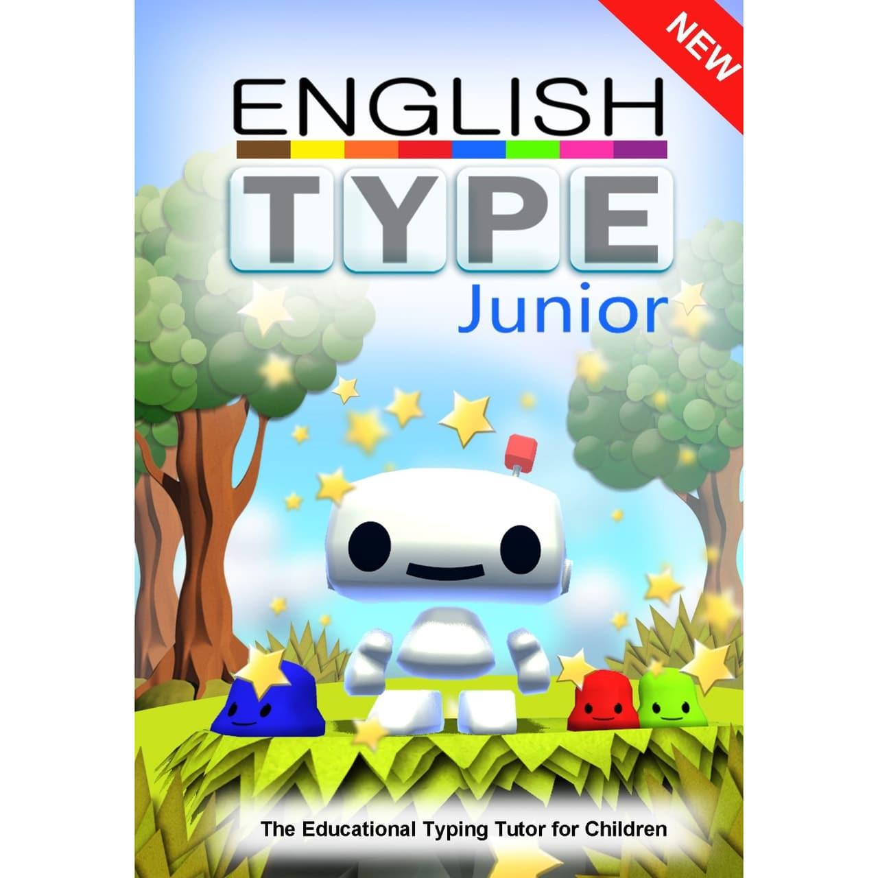 Englishtype Junior Typing Tutor - Mac (Digital Download available)