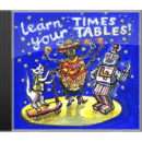 Learn Your Times Tables music CD for dyscalculia and maths difficulties