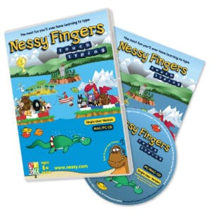 Nessy Fingers Typing Tutor
