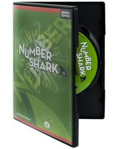 Image of Numbershark 5 disc and box