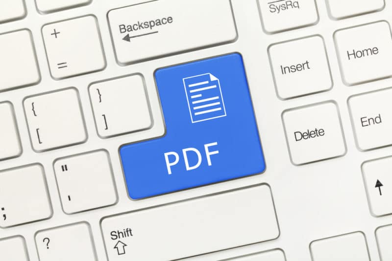 Acessible PDF Document's