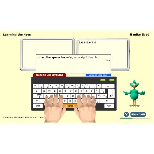 Kaz SEN/Dyslexia Typing Tutor - Digital Download